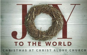 Join us for our Christmas Eve service at 6:00 p.m. on December 24!